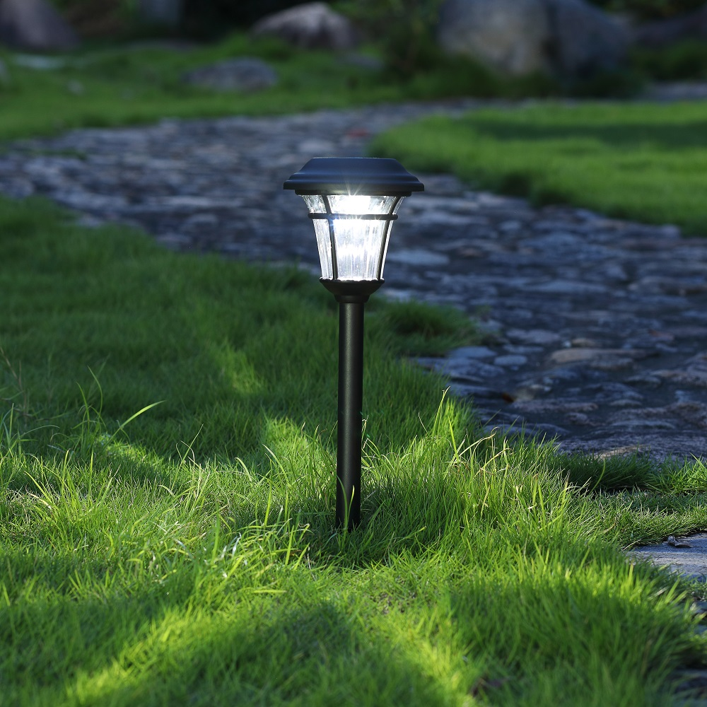 Outdoor Lights On Patio: 6 Lumens Solar Landscape Light For Patio,yard,walkway