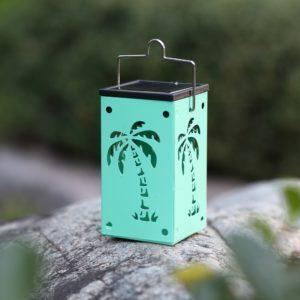hosus solar lantern coconut palm tree