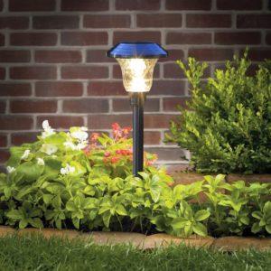 Solar-Lights-Pathway-Outdoor-Garden-Glass-Stainless-Steel-Waterproof
