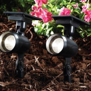 15 lumens solar LED spot light