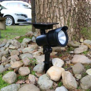 40 lumens solar LED spot light