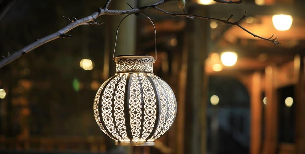 Solar Outdoor Retro Lanterns