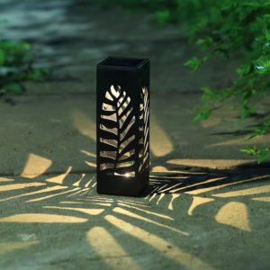 solar-bollard-palm-leaf