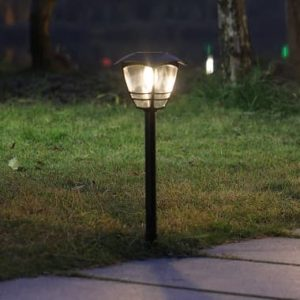 solar Vintage Edison Bulb LED light 3