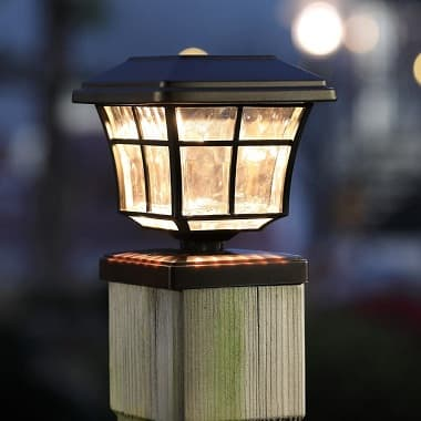 solar post light 22