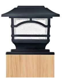 normal post cap light