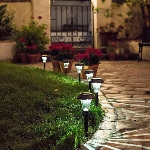 enchanted space solar path light 6 pack