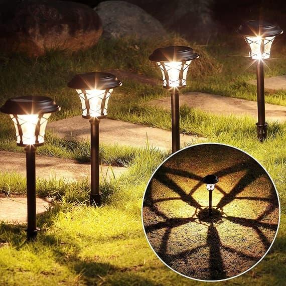 maggift solar path light 6 pack