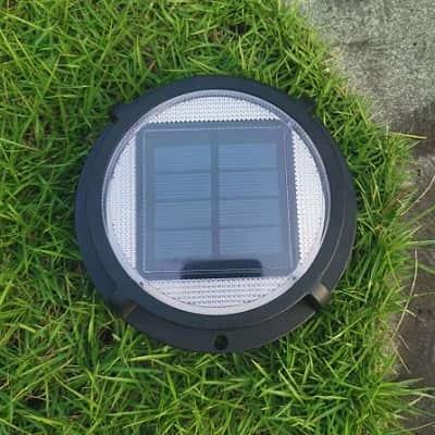 sterno solar deck step light multi surface 3