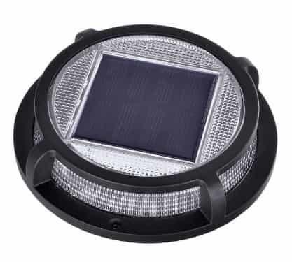 sterno solar deck step light multi surface