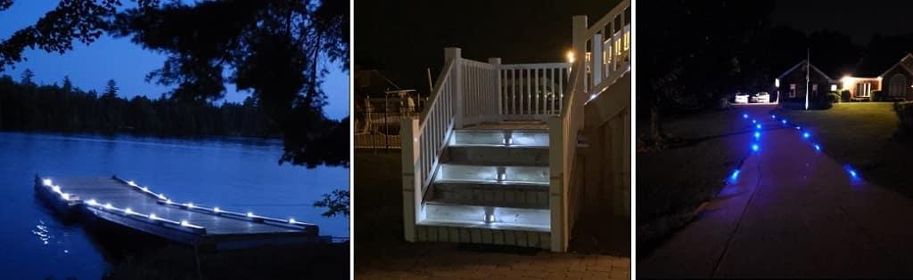 volisun solar deck light