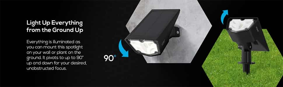 Vont solar spot light(1)